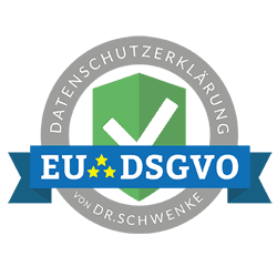 Siegel Datenschutzerklärung EU DSGVO